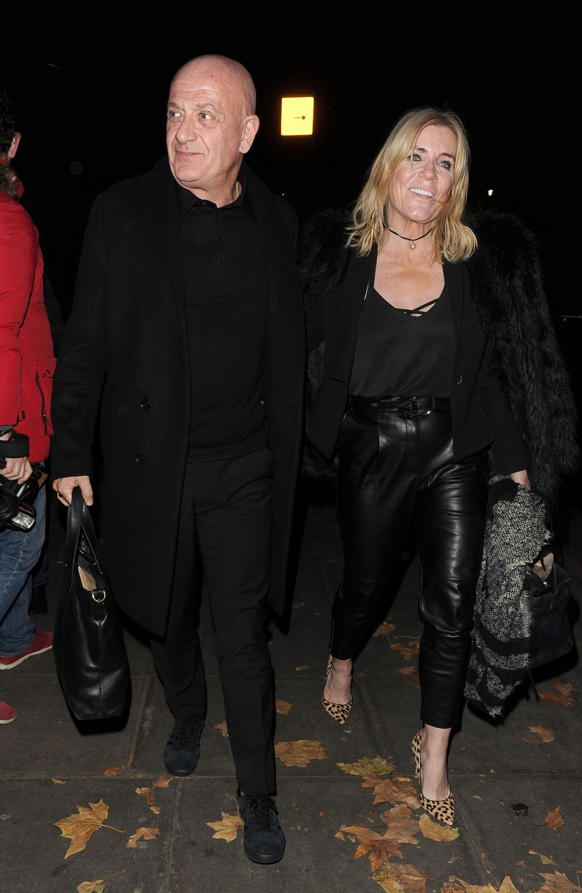 Michelle Collins Arrives at Phil Turner's 50th Birthday Party in London 2018/11/14 1