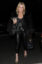Michelle Collins Arrives at Phil Turner's 50th Birthday Party in London 2018/11/14 2