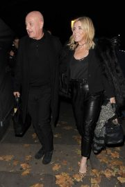 Michelle Collins Arrives at Phil Turner's 50th Birthday Party in London 2018/11/14 3