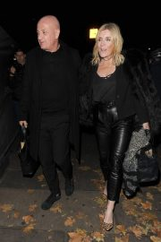 Michelle Collins Arrives at Phil Turner's 50th Birthday Party in London 2018/11/14 4