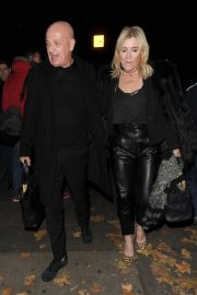 Michelle Collins Arrives at Phil Turner's 50th Birthday Party in London 2018/11/14 5