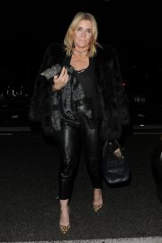 Michelle Collins Arrives at Phil Turner's 50th Birthday Party in London 2018/11/14 6