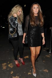 Michelle Heaton Arrives at Phil Turner's 50th Birthday Party in London 2018/11/14 3