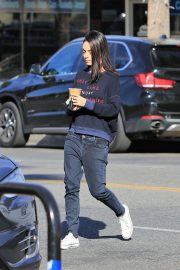 Mila Kunis Out for Coffee in Studio City 2018/11/27 2