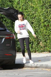 Mila Kunis Out in Los Angeles 2018/11/01 1