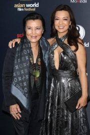 Ming-Na Wen at 4th Annual Asian World Film Festival Closing Night in Culver City 2018/11/01 1