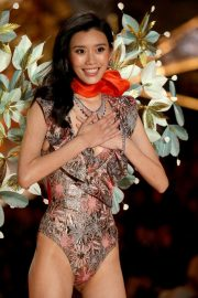 Ming Xi at Victoria's Secret 2018 Show in New York 2018/11/08 1