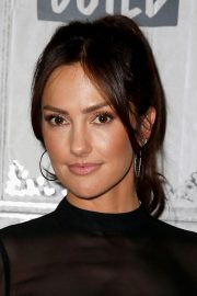 Minka Kelly at Build Series in New York 2018/11/01 1