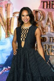 Misty Copeland at The Nutcracker and the Four Realms Premiere in Los Angeles 2018/11/01 7