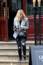 Mollie King Out and About in Paris 2018/11/08 5