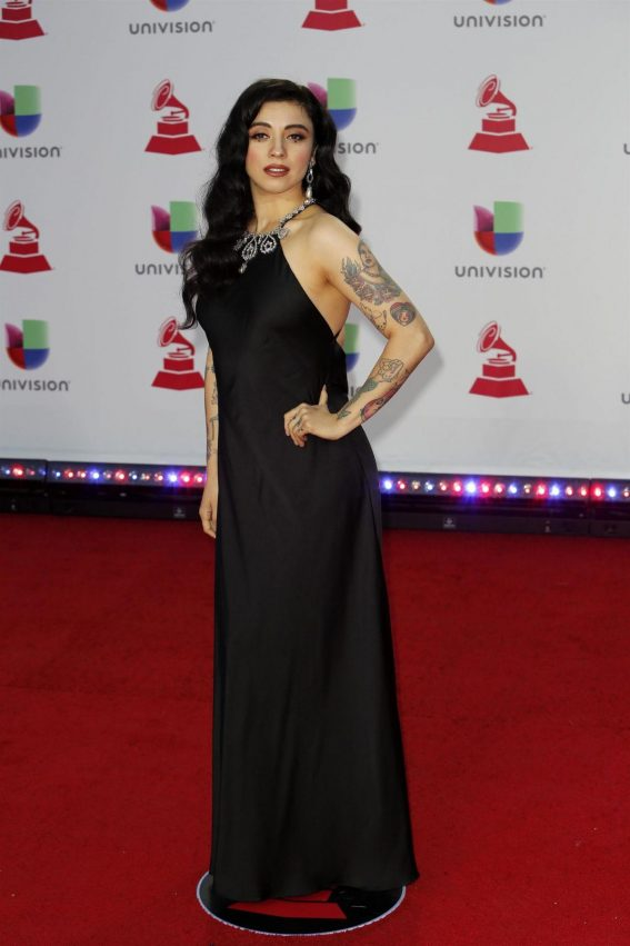 Mon Laferte at 2018 Latin Grammy Awards in Las Vegas 2018/11/15 1