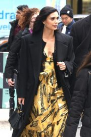 Morena Baccarin Arrives at AOL Build in New York 2018/11/20 4