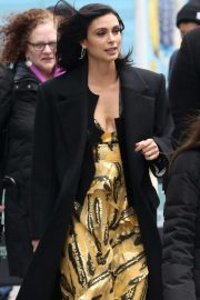 Morena Baccarin Arrives at AOL Build in New York 2018/11/20 7