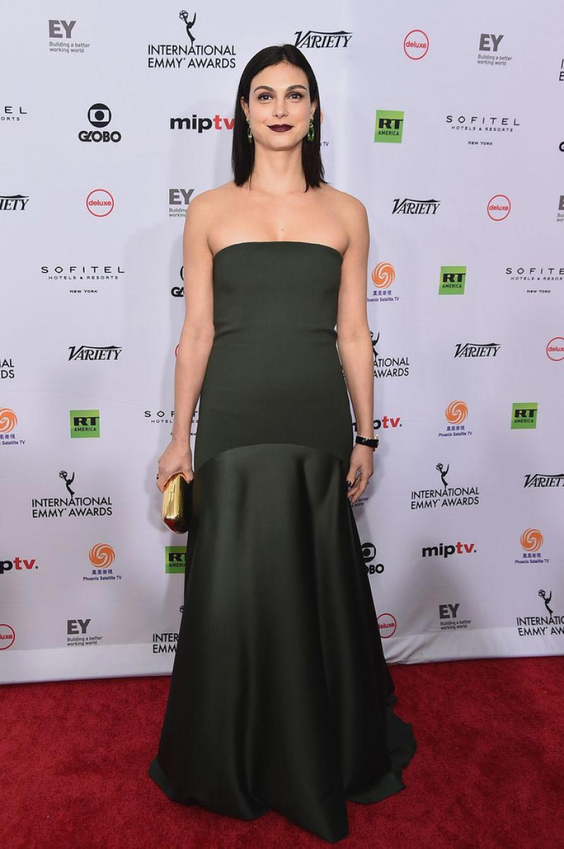 Morena Baccarin at 2018 International Emmy Awards in New York 2018/11/19 1