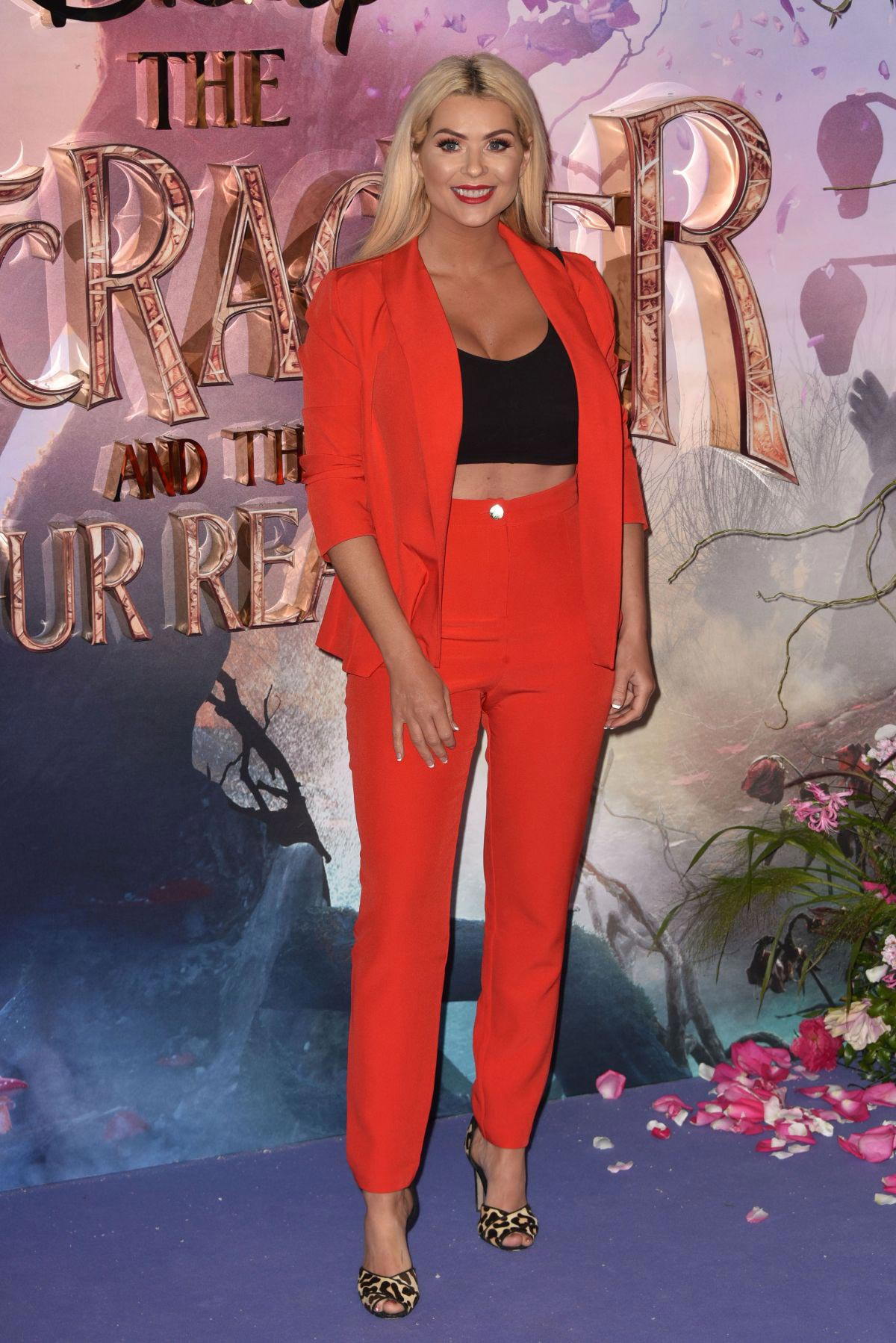 Nicola McLean at The Nutcracker and the Four Realms Premiere in London 2018/11/01 1