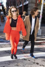 Nina Agdal and Jack Brinkley-Cook Out in New York 2018/11/16 6