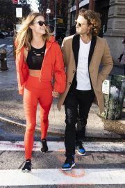 Nina Agdal and Jack Brinkley-Cook Out in New York 2018/11/16 7