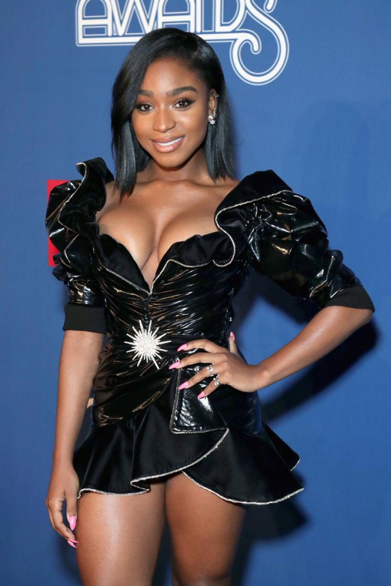 Normani at Bet Presents: 2018 Soul Train Awards in Las Vegas 2018/11/17 1
