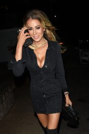 Olivia Attwood at Menagerie Bar and Restaurant in Manchester 2018/11/03 1