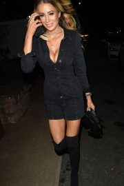 Olivia Attwood at Menagerie Bar and Restaurant in Manchester 2018/11/03 2