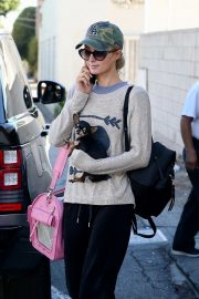 Paris Hilton Out with Her Dog in Beverly Hills 2018/11/02 2