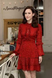 Rachel Brosnahan at Kicks Off Holidays and Keeps it Simple with American Express Cash Magnet Card in New York 2018/11/26 1