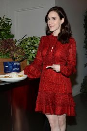 Rachel Brosnahan at Kicks Off Holidays and Keeps it Simple with American Express Cash Magnet Card in New York 2018/11/26 2