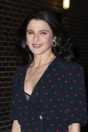 Rachel Weisz Arrives at Late Show with Stephen Colbert in New York 2018/11/13 1