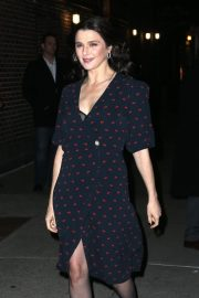 Rachel Weisz Arrives at Late Show with Stephen Colbert in New York 2018/11/13 3