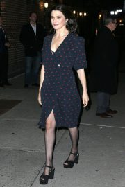 Rachel Weisz Arrives at Late Show with Stephen Colbert in New York 2018/11/13 4