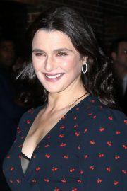 Rachel Weisz Arrives at Late Show with Stephen Colbert in New York 2018/11/13 5