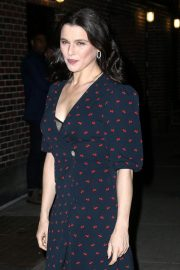 Rachel Weisz Arrives at Late Show with Stephen Colbert in New York 2018/11/13 6