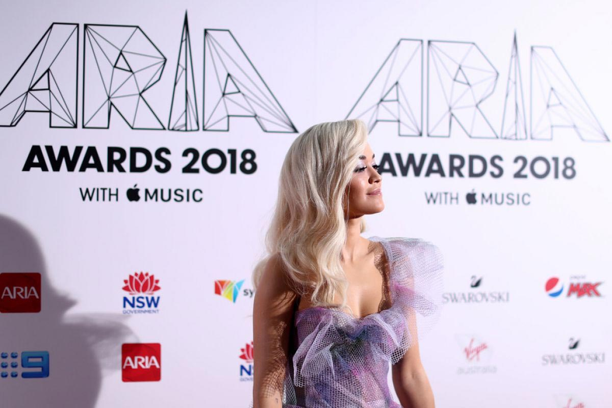 Rita Ora at Aria Award 2018 in Sydney 2018/11/28 1