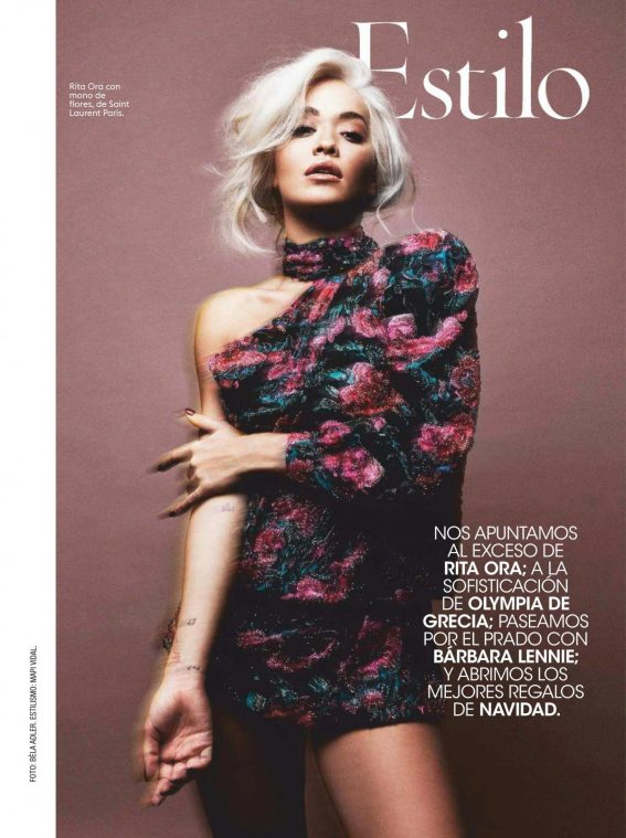 Rita Ora in Glamour Magazine, Spain December 2018 1