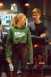 Romee Strijd at a Gym in New York 2018/11/14 3