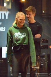 Romee Strijd at a Gym in New York 2018/11/14 5