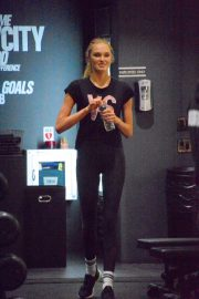 Romee Strijd at a Gym in New York 2018/11/14 6