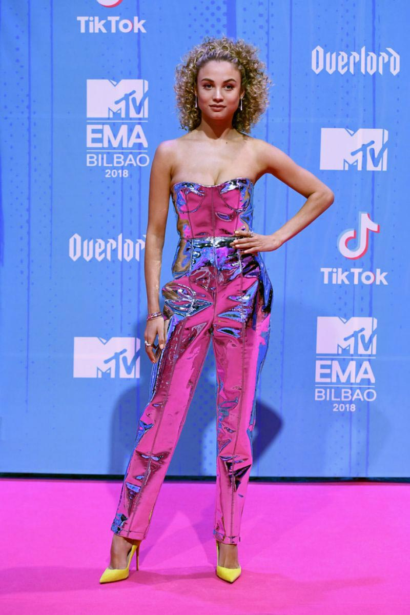 Rose Bertram at MTV European Music Awards 2018 in Bilbao 2018/11/04 1