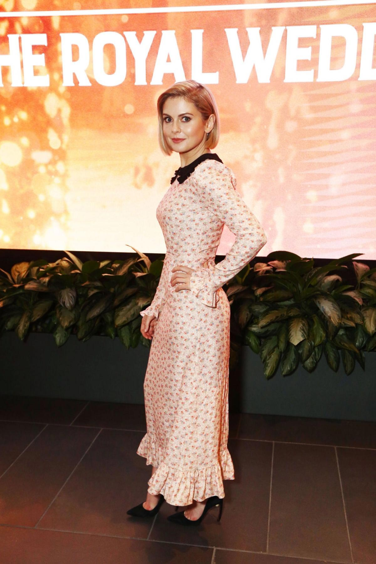 Rose McIver at A Christmas Prince: The Royal Wedding Special Screening in Los Angeles 2018/11/16 1