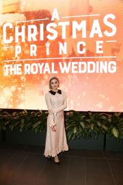 Rose McIver at A Christmas Prince: The Royal Wedding Special Screening in Los Angeles 2018/11/16 2