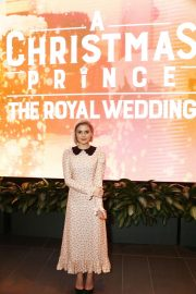 Rose McIver at A Christmas Prince: The Royal Wedding Special Screening in Los Angeles 2018/11/16 3
