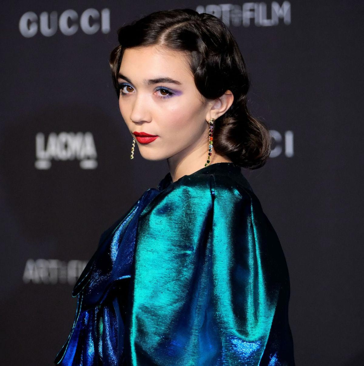 Rowan Blanchard at Lacma: Art and Film Gala in Los Angeles 2018/11/03 1