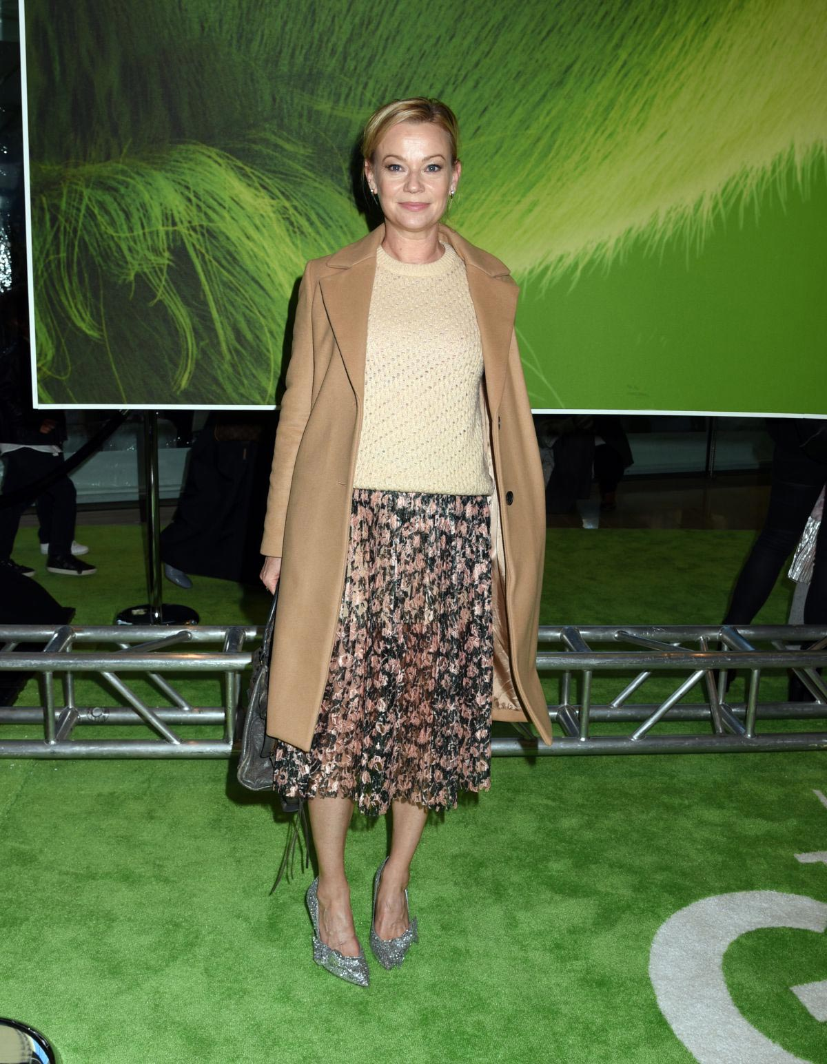 Samantha Mathis at The Grinch Premiere in New York 2018/11/03 1