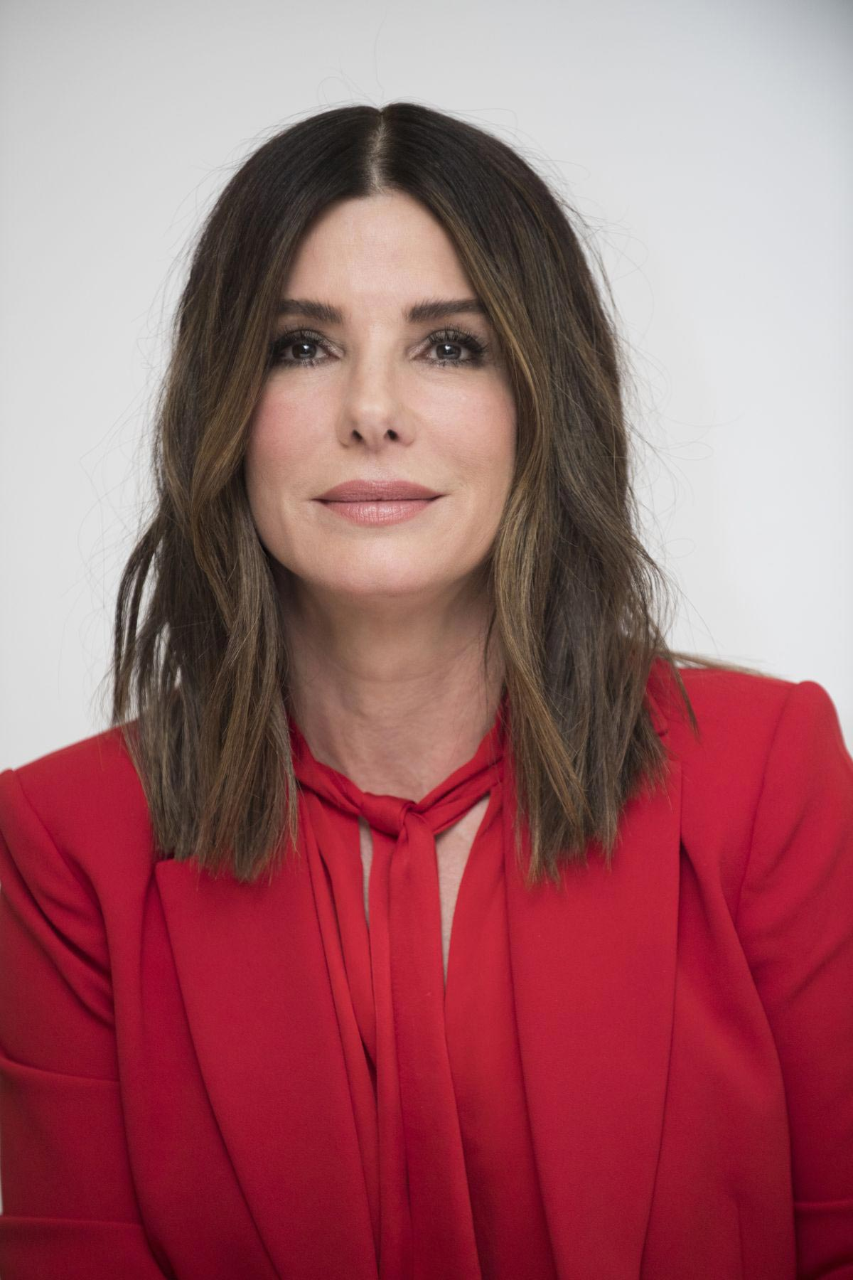 Sandra Bullock at Bird Box Press Conference in Beverly Hills 2018/12/11 1