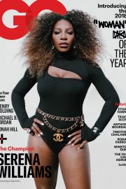 Serena Williams on The Cover of GQ 2018 Women of The Year Issue 1