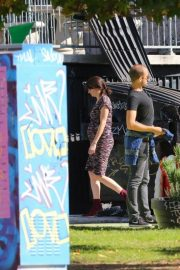 Shailene Woodley on the Set of Drake Doremus Project in Los Angeles 2018/11/16 1