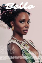 Shanola Hampton in Bello Magazine, February 2018 1