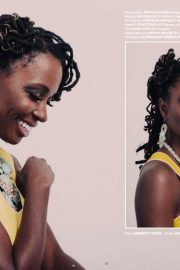 Shanola Hampton in Bello Magazine, February 2018 3