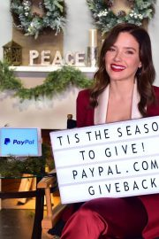 Sophia Bush at PayPal in Support of Giving Tuesday Movement in Los Angeles 2018/11/19 1