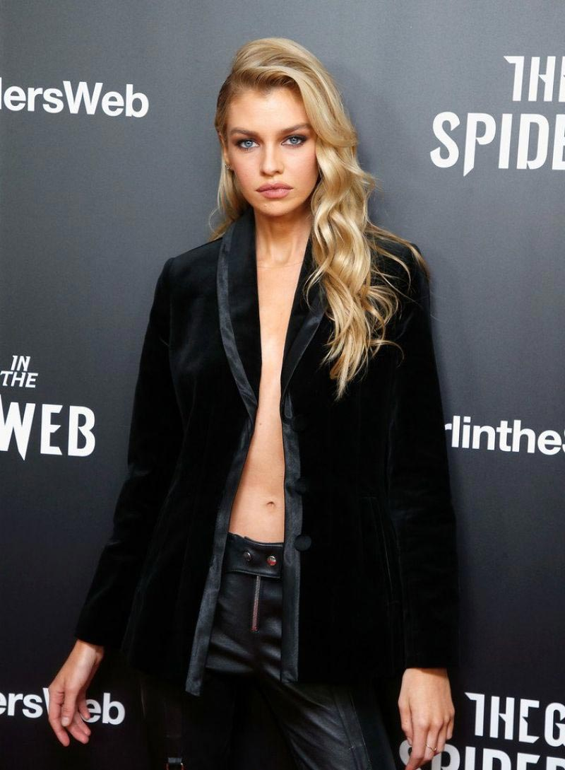 Stella Maxwell at The Girl in the Spider's Web Screening in New York 2018/11/04 1